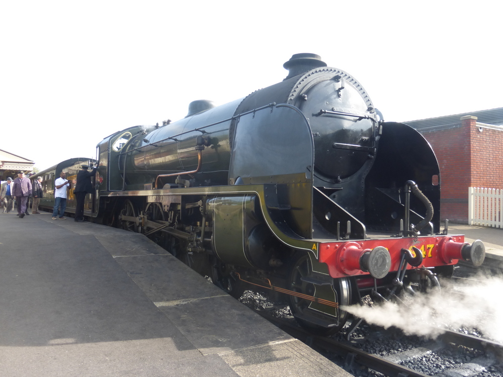 Bluebell Railway Bier-Traveller (69)