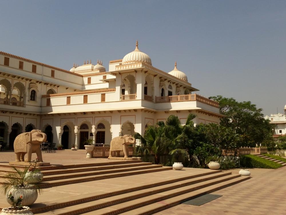 Bharatpur Laxmi Vilas Palace Curry-Heute (2)